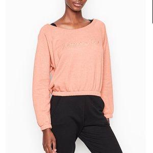 NWT VICTORIA'S SECRET Stretch-fleece sweater